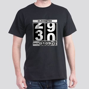 30th Birthday Oldometer Dark T-Shirt