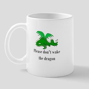 Sleeping Dragon Mug