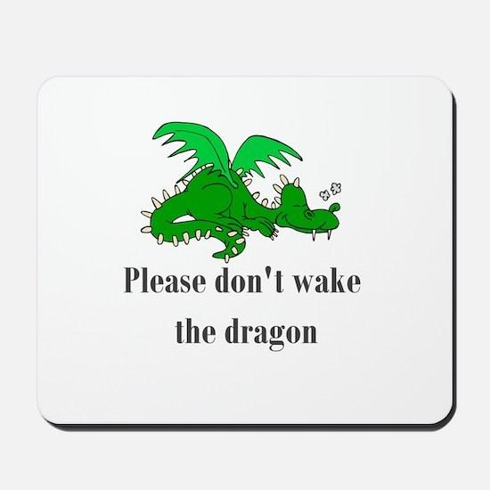 Sleeping Dragon Mousepad