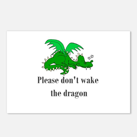 Sleeping Dragon Postcards (Package of 8)