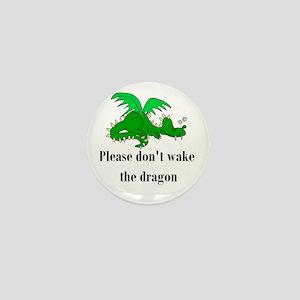 Sleeping Dragon Mini Button