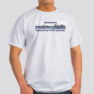 Cynical senior cemetery Light T-Shirt