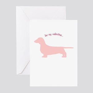 Doxie... Be My Valentine Greeting Cards (Pk of 20)