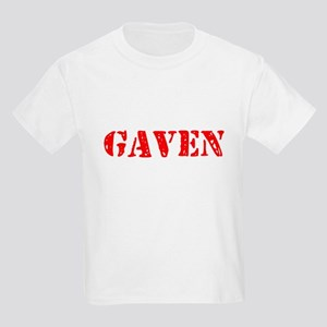 Gaven Rustic Stencil Design T-Shirt