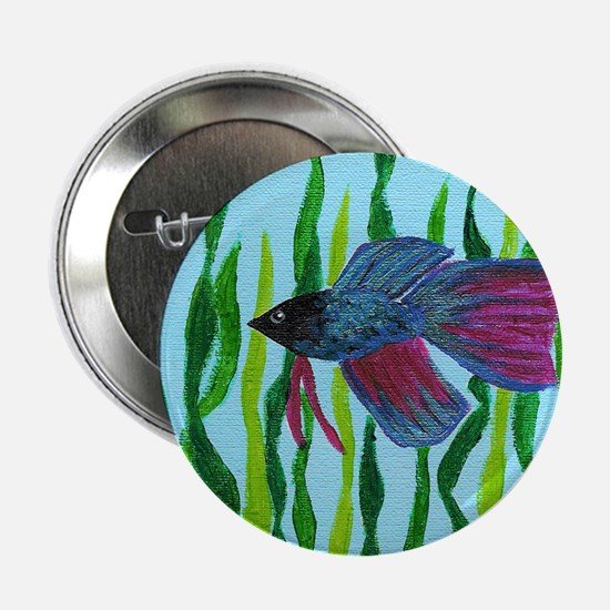 Betta fish Button
