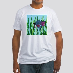 Betta fish Fitted T-Shirt