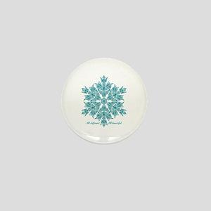 Unity Snowflake Mini Button