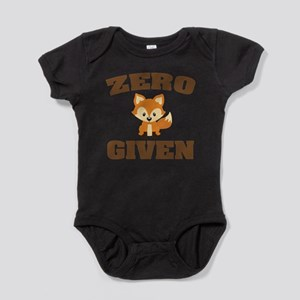 Zero Fox Given Body Suit