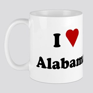 I Love Alabama Mug
