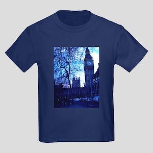 Houses of Parliament Kids Dark T-Shirt