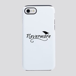 Nevermore in Blk iPhone 8/7 Tough Case