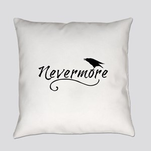 Nevermore in Blk Everyday Pillow