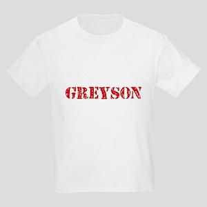 Greyson Rustic Stencil Design T-Shirt