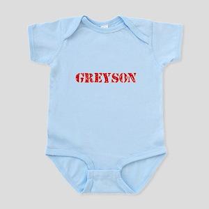 Greyson Rustic Stencil Design Body Suit