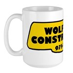 Wolfman Construction Large Mug