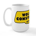 Wolfman Construction Large Mug