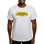 Wolfman Construction Ash Grey T-Shirt