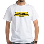 Wolfman Construction White T-Shirt