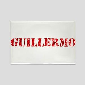 Guillermo Rustic Stencil Design Magnets