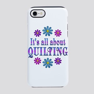 ALL ABOUT QUILTING iPhone 8/7 Tough Case