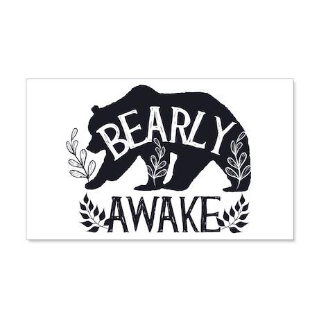 Bearly Awake Wall Decal