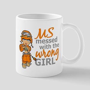 Combat Girl MS Large Mugs