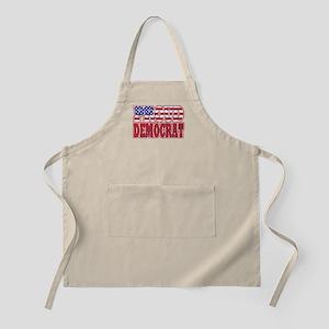 Proud Democrat BBQ Apron