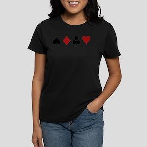 Four Card Suits Symbol T-Shirt