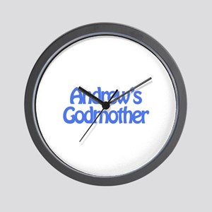Andrew's Godmother Wall Clock