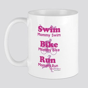 Triathlon Mommy Mug