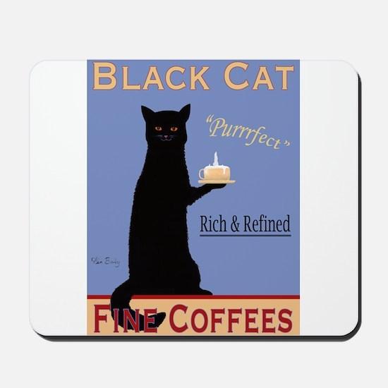 Black Cat Fine Coffees Mousepad