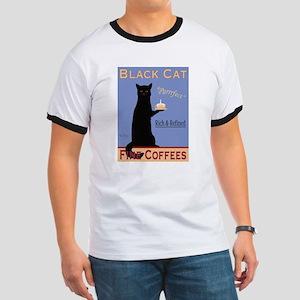 Black Cat Fine Coffees Ringer T