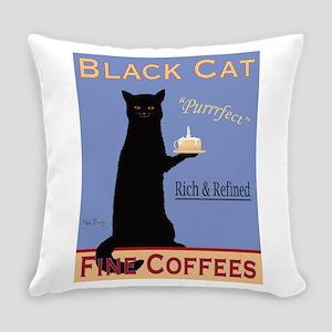 Black Cat Fine Coffees Everyday Pillow