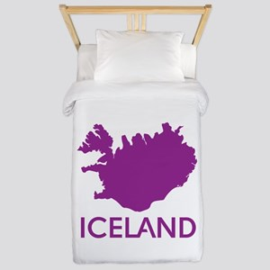 Iceland Twin Duvet Cover