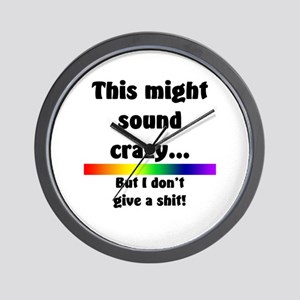 This might sound crazy Wall Clock