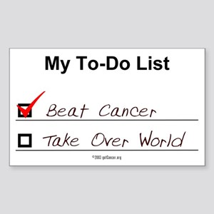 My To-Do List Rectangle Sticker