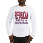 It's My Party Republican Long Sleeve T-Shirt