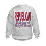It's My Party Republican Kids Sweatshirt