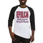 It's My Party Republican Baseball Jersey