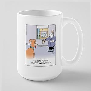 Pavlov's Dog Large Mug