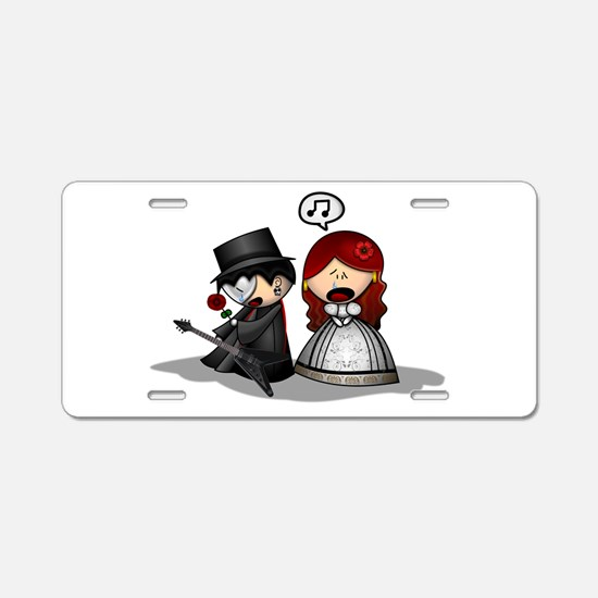 The Phantom Of The Opera Cu Aluminum License Plate