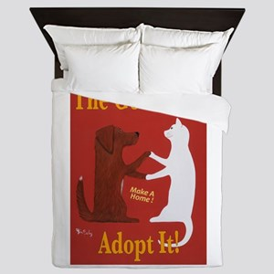 The Good Life - Adopt It Queen Duvet
