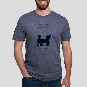Monopoly - Reading Railroad Mens Tri-blend T-Shirt