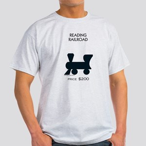 Monopoly - Reading Railroad Light T-Shirt