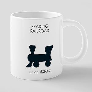 Monopoly - Reading Railroad 20 oz Ceramic Mega Mug