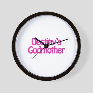 Destiny's Godmother Wall Clock