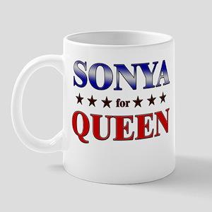 SONYA for queen Mug