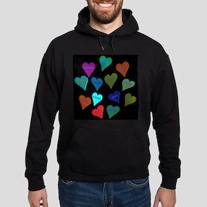 Valentine's Day Candy Hoodie (dark)