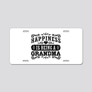 Grandma Aluminum License Plate