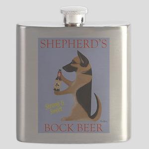 Shepherd's Bock Beer Flask
